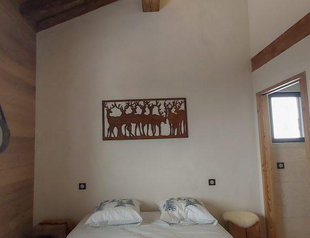 Location chalet Ladakh avec la chambre Leh pour 2 personnes aux Saisies