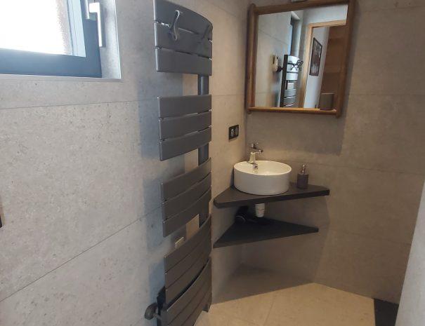 Salle de bain Chambre 2 personnes location chalet Ladakh