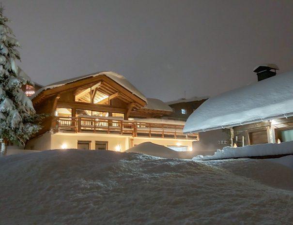 Chalet Les Saisies neige